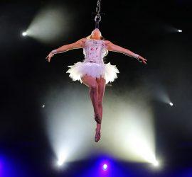 В Белгороде гимнастка во время выступления упала с большой высоты