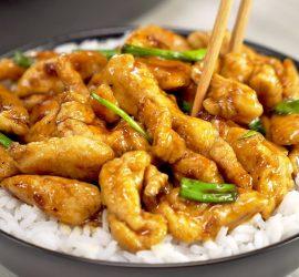 Монгольская курица: знаменитое блюдо за 20 минут