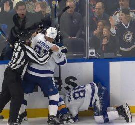 Жестокий силовой выбил Кучерова из игры