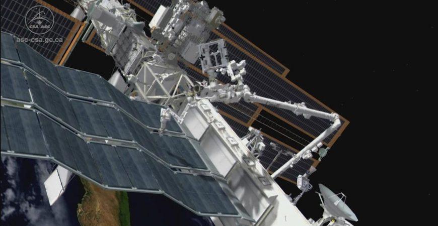 NASA построит отель для роботов на МКС