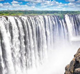 Виктория: крупнейший водопад мира практически высох