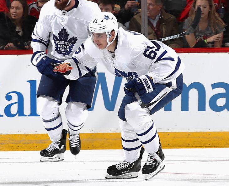 Михеев получил рваную рану в матче НХЛ