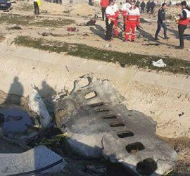 Падение украинского самолета: видео из Ирана