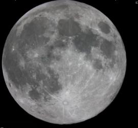 Первое лунное затмение в 2020 году