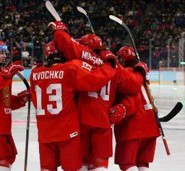 Сборная России по хоккею уничтожила США в финале юношеской Олимпиады