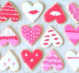 Сладкие «Валентинки»на 14 февраля