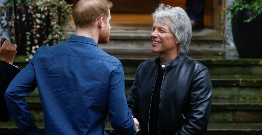 Принц Гарри и Bon Jovi записали трек