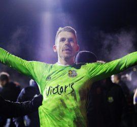 Вратарь немецкого клуба отбил пять пенальти в одном матче
