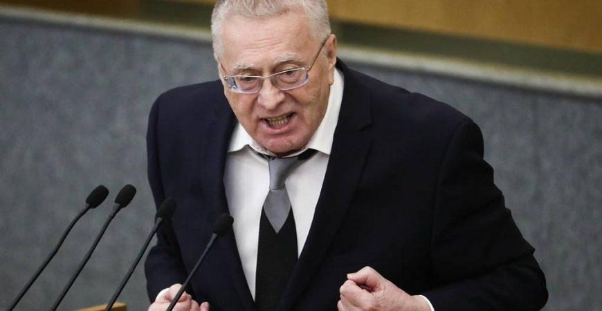 Жириновский поздравил Little Big танцем