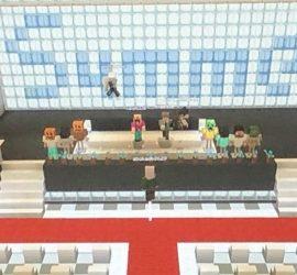 Японские школьники отметили выпускной в Minecraft