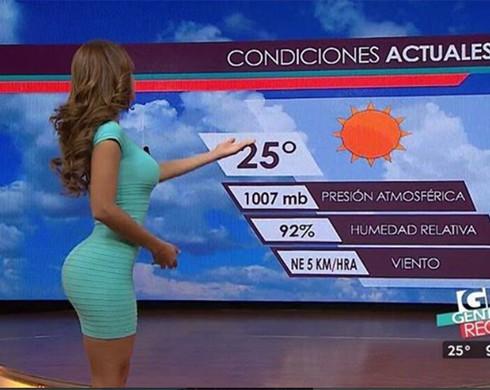 Приколы с ведущими прогноза погоды