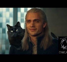 Гений монтажа добавил свою кошку в сериал Ведьмак