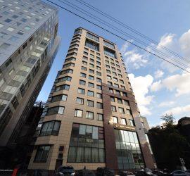В Московском бизнес-центре прогремел взрыв
