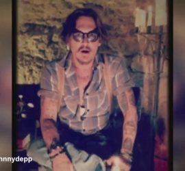Джонни Депп опубликовал свое первое видео в Instagram