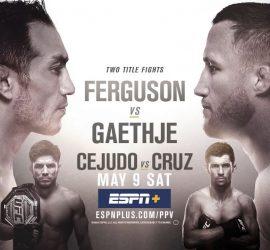 Шикарный трейлер к UFC 249