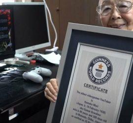 90-летняя геймер из Японии попала в Книгу рекордов Гиннесса