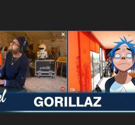 Дэймон Албарн выступил дуэтом со своим 2D-персонажем из Gorillaz