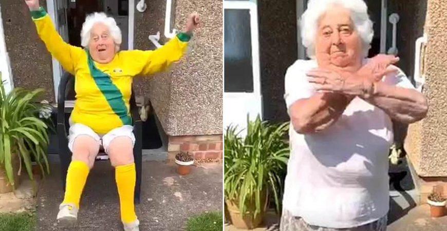 88-летняя британка стала звездой TikTok