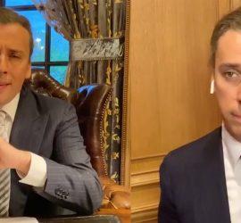 Максим Галкин изобразил Путина и Собянина, обсуждающих прогулки по Москве