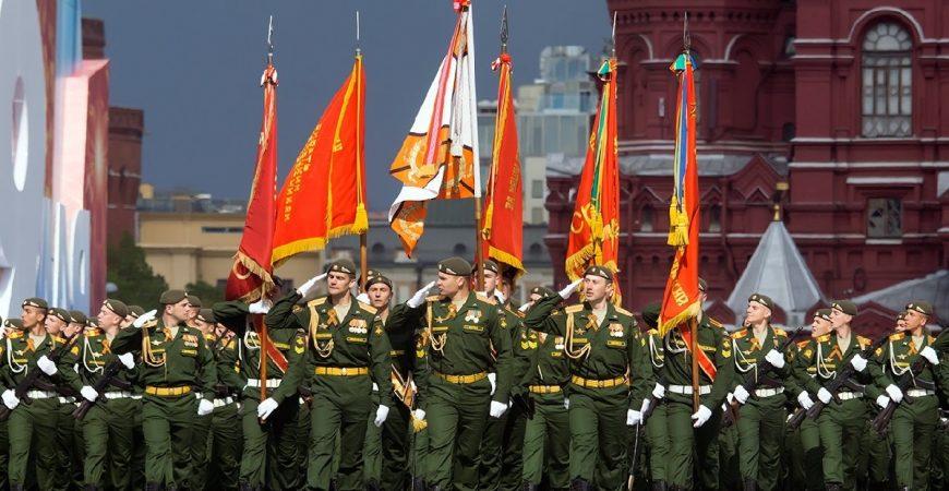 В Москве состоялся Парад Победы 2020