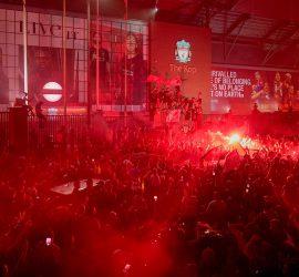 Как Ливерпуль праздновал долгожданное чемпионство