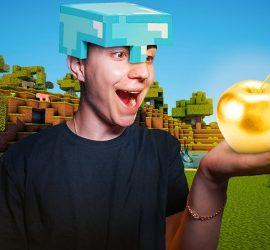 Блогер провел 24 часа подряд Minecraft'e