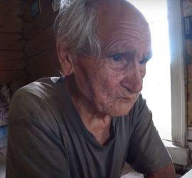 Дед-отшельник жил в тайге 60 лет, не выходя из леса