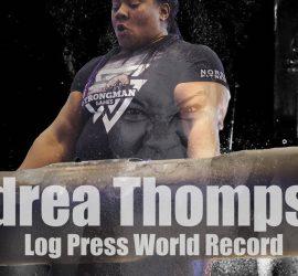 Британка подняла металлическое бревно весом 135 кг