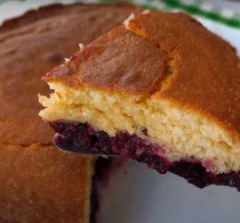 Как приготовить самый простой вишневый пирог