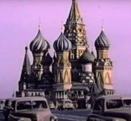 Редкие кадры жизни в СССР из иностранного архива