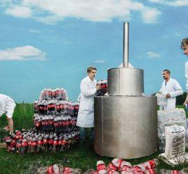 Эксперимент: 1000 литров колы vs ментос