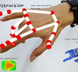 Новый VR-браслет отслеживает движения кисти и пальцев