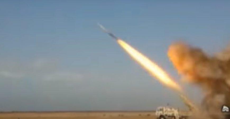 Иран запустил ракету по военному кораблю США