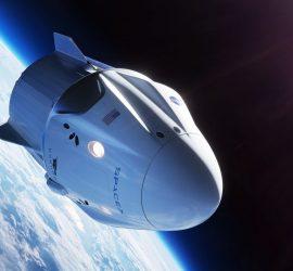 Корабль Crew Dragon Илона Маска вернулся на Землю
