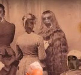 Подборка жутких семейных фото, от которых сердце уходит в пятки