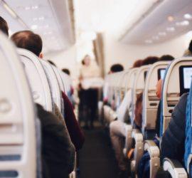 Драка пассажиров самолета нидерландской авиакомпании