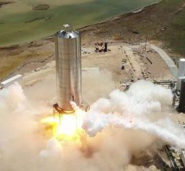 Успешное испытание нового корабля SpaceX