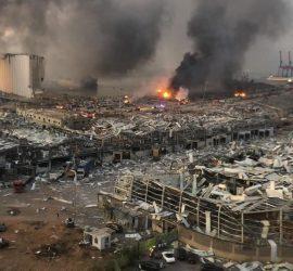 Как выглядит Бейрут после взрыва