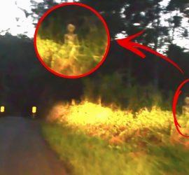 Топ видео с реальными пришельцами: пугает до мозга костей