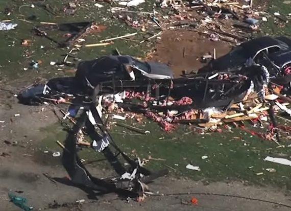 На США обрушился мощный ураган: есть жертвы