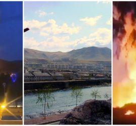 Появилось видео взрывов из Северной Кореи