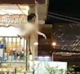 В Таиланде голая женщина кричала Аллаху акбар в буддистском храме