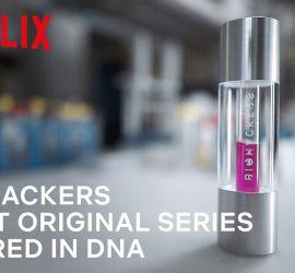 Netflix сохранила новый сериал в ДНК: смотреть процесс записи