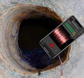 Телефон упал в огромную дыру и записал жуткие вещи: страшно до мурашек
