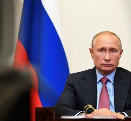 Владимир Путин дал интервью Сергею Брилеву на канале Россия 24