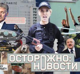 Ксения Собчак: осторожно новости