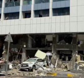 Мощный взрыв сотряс столицу ОАЭ