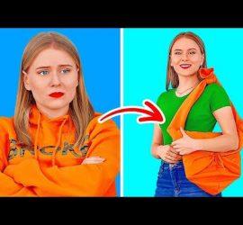 Простые и полезные лайфхаки с одеждой