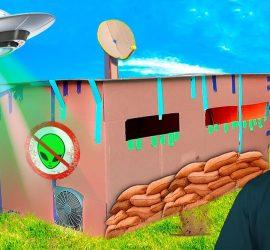 Влогер A4 показал, как спасти землю от нападения пришельцев