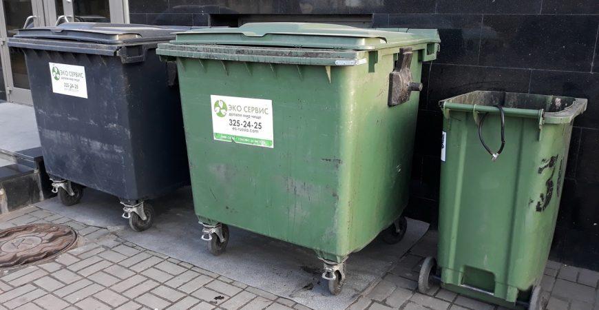 В Омске парень выбросил девушку в мусорный бак